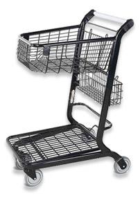 VersaCart ® Retail Flatbed Shopping Cart