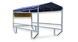 VersaCart®  Outdoor Shopping Cart Corrals