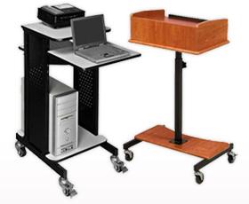 Digital Projector Carts