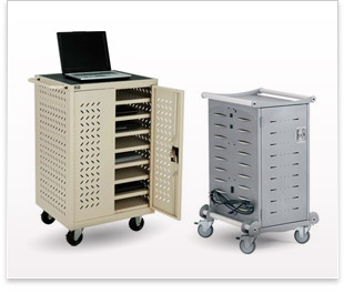 Laptop charging carts_cabinets