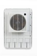 Window mount evaporative coolers