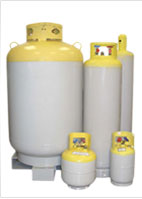 Refrigerant Recovery Cyclinders