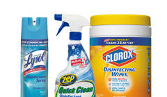 Disinfectants & Sanitizers