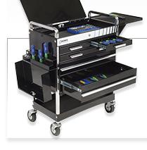 Global 2 Drawer Tool Cart