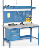 Laboratory Work Benches Adjustable Or Mobile At Global