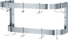 Stainless steel pot racks
