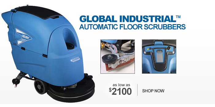 Global Industrial™ Automatic Floor Scrubbers - as low as $2100
