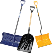 Snow Scoops, Shovels & Scrapers