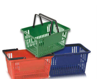 Polypropylene Shopping Baskets