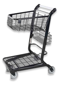 VersaCart ® Retail Flatbed Shopping Cart