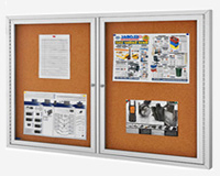 Enclosed Bulletin Boards