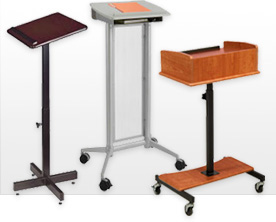 Oklahoma Sound® Portable Presentation Lecterns