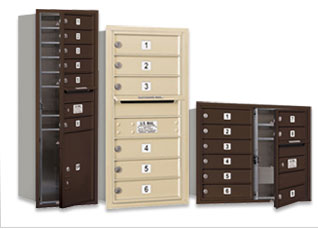 Mailboxes-Commerical Wall Mounted 4C