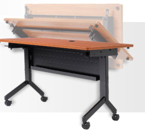Interion® Flip-Top Training Tables