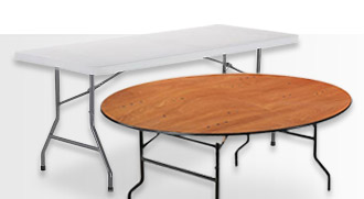 Interion® Folding Tables
