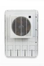 Window mount evaporative coolers