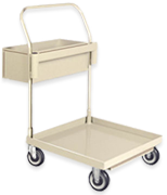 Steel Cleaning Cart