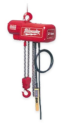 Milwaukee Electric Chain Hoists