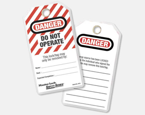 Safety Identification Tags