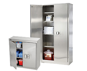 tainless Steel Storage Cabinets