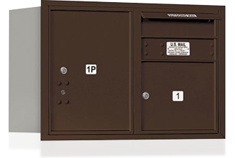 Commercial Mailboxes-Wall Mount 4C