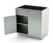 Stainless Steel Base Medical Cabinets