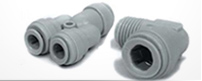 Push To Connect Plastic Tubing Fittings