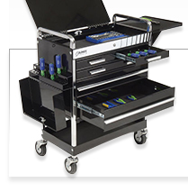 Global 2 Drawer Tool Cart