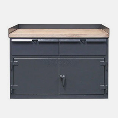 Heavy Duty Cabinet Workbenches with Maple Top