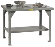 Heavy Duty Adjustable Height Work Tables