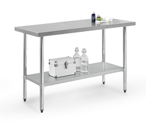 Stainless Steel  Workbenches - Flap Top