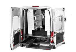 Van Storage Equipment