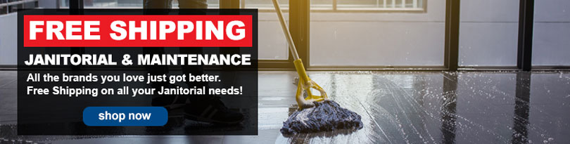 FREE SHIPPING - Janitorial & Maintenance