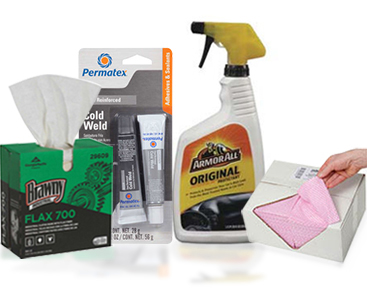 Vehicle Cleaners, Polishes & Waxes