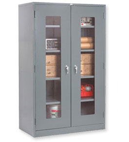 Global Clear View Storage Cabinets