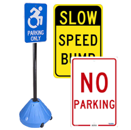 Traffic & Parking Lot Signs