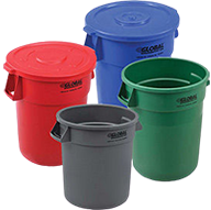 Plastic Indoor Garbage Cans