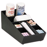 Cup, Lid, Condiment Organizers